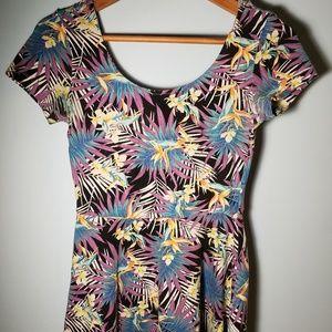 Tropical Babydoll Dress
